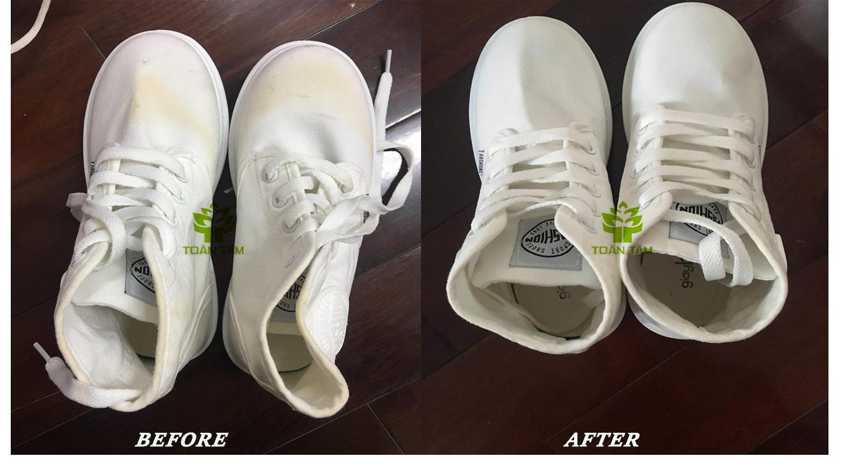 dịch vụ vệ sinh giày cao cấp
