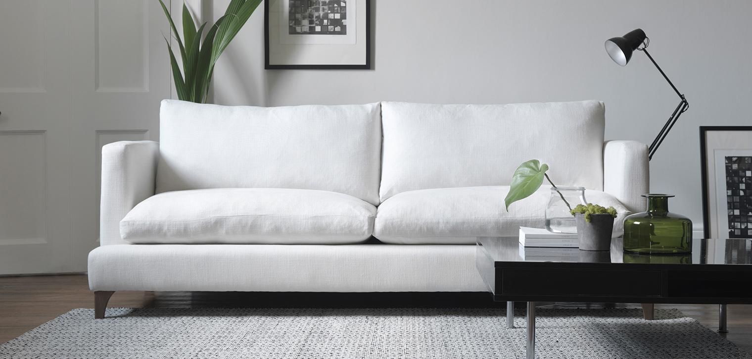 Mẹo bảo quản ghế sofa trắng